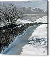 Snow Above Barbondale - Barbon Acrylic Print