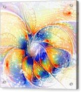 Snow Blossom Acrylic Print