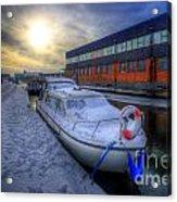 Snow Boat 1.0 Acrylic Print