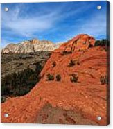 Snow Canyon 1 Acrylic Print
