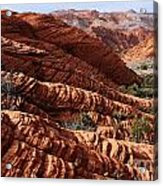 Snow Canyon 2 Acrylic Print