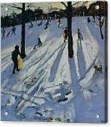 Snow Rykneld Park Derby Acrylic Print