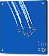 Snowbirds At Airshow Acrylic Print