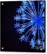 Snowflake Sparkle Acrylic Print