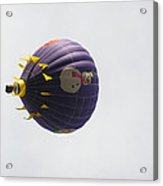 Snowman Balloon Acrylic Print