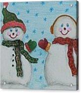 Snowmen 2 Acrylic Print