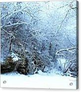 Snowy Morn Acrylic Print