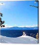 Snowy Tahoe Acrylic Print