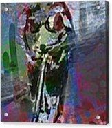 Sober Scooter Acrylic Print