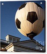 Soccer Ball Over Long Branch Acrylic Print
