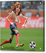 Soccer Mom Acrylic Print