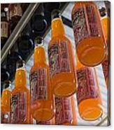 Soda Bottles Acrylic Print