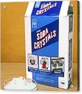 Soda Crystals Acrylic Print