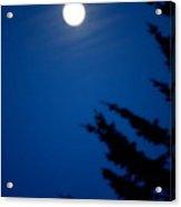 Soft Moon Acrylic Print