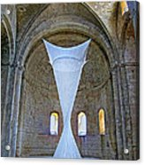 Soft Sculpture In A Monastery Acrylic Print