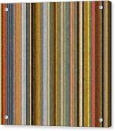 Soft Stripes Ll Acrylic Print