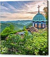 Sokolski Monastery Acrylic Print