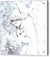 Solace Angel Acrylic Print