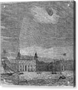 Solar Eclipse, 1858 Acrylic Print
