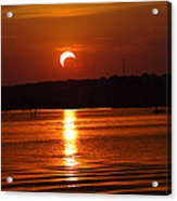 Solar Eclipse 2012 - Fort Worth Texas Acrylic Print