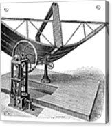 Solar Engine, 1884 Acrylic Print