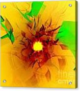 Solar Flare Acrylic Print