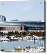 Soldier Field Chicago Acrylic Print