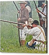 Soldier Fires Acrylic Print