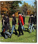 Soldiers March Color Acrylic Print