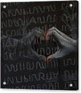 Soldier's Sacrifice Acrylic Print by Joanna Gates