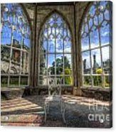 Solitary Conservatory Acrylic Print