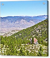 Solitude With A View - Carson City Nevada Acrylic Print