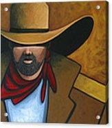 Solo Cowboy Acrylic Print