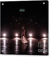 Solo Dance Performance Acrylic Print by Scott Sawyer