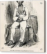 Solomon Northup (1808-?) Acrylic Print