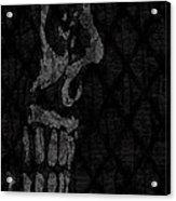 Sombre Skull Acrylic Print