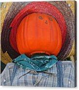 Sombrero Scarecrow Acrylic Print