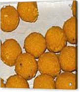 Some Indian Sweets Called A Ladoo In The Shape Of A Sphere Acrylic Print