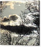 Some Rather Serious Looking Clouds Acrylic Print