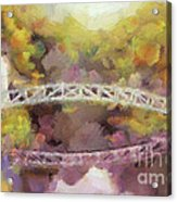 Somes Bridge - Somesville Maine Acrylic Print
