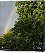 Somewhere Over The Rainbow Acrylic Print
