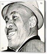 Sonny Liston In Boston, 1964 Csueverett Acrylic Print by Everett