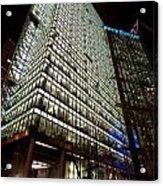 Sony Center At Night Acrylic Print
