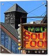Soul Food Acrylic Print