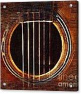 Sound Hole  Acrylic Print