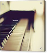 Sound Of Piano Acrylic Print