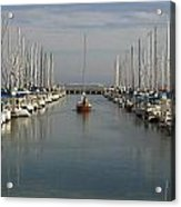 South Beach Harbor Acrylic Print