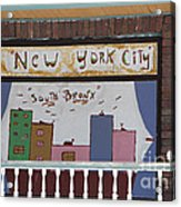 South Bronx - New York City Acrylic Print