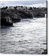 Menorca South Coast In A Stormy Mediterranean Day Acrylic Print