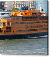 South Ferry Water Ride1 Acrylic Print